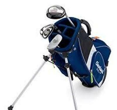 """Cleveland Junior Set Small(4-6yr/90-110cm) FW,#7 I and Putter """"Brand New"""" #1111"""