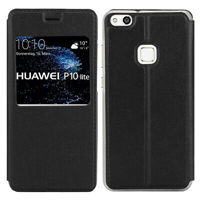 Etui Housse Coque Portefeuille Support Video Rabat pour Huawei P10 Lite 5.2""