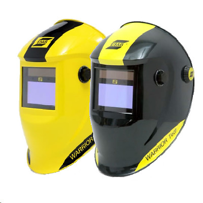Esab Warrior Tech Welding Helmet - Yellow (c/w Two Free Outer Lens)