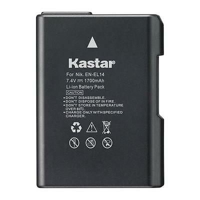 Kastar EL14 Battery for Nikon D3100 D3200 D3300 D3400 D5100 D5200 D5300  D5500