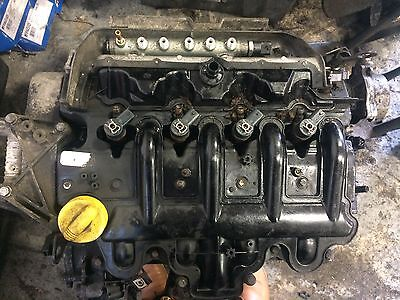 RENAULT MASTER VAUXHALL MOVANO NISSAN 2.5 G9U ENGINE COMPLET ENGINEwith INJECTOR