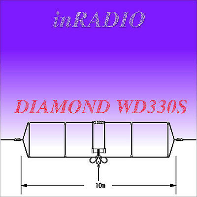 DIAMOND WD-330S 2-28,6MHz 10m 150W DIPOLE HF ANTENNA + FAST GLS DELIVERY WD330S