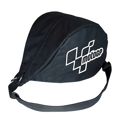 MotoGP Messenger Helmet Bag Motorcycle Helmet Bag Black Does Motorbike MGPHEL08