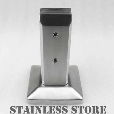 Stainless Steel Glass Spigots Pool Fence Balustrade Post Clamp Heavy 2.3KG