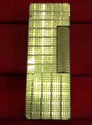 Dunhill lighter Metal Goldplated 1970- Accendino Dunhill In Metallo Dorato 1970
