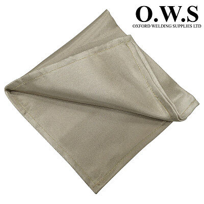 2mtr x 2mtr Fibre Glass Welding Blanket - 600 Degrees EN 1869