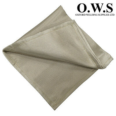 2mtr x 900mm Silicate Fibre Glass Welding Blanket - 1200 Degrees Weldbarrier
