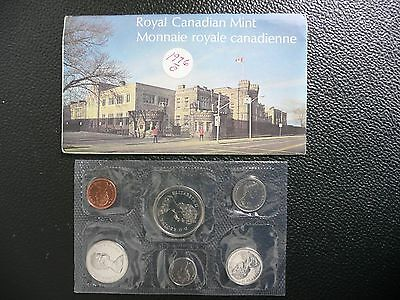 1976 Canadian Mint Prooflike 6 Coin Set