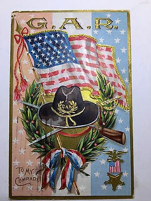 Vintage G A R postcard, RARE, Decoration Day Series No 2, Grand Army of the Repu