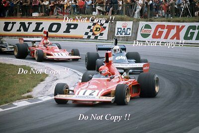 Niki Lauda Ferrari 312 B3 British Grand Prix 1974 Photograph 1