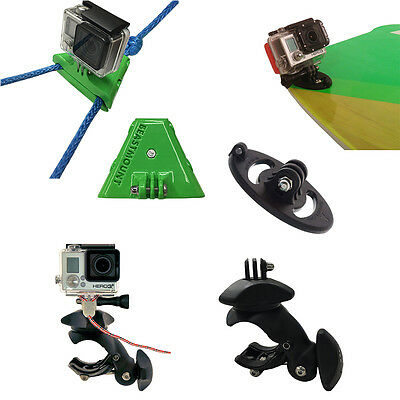 ULTIMATE GOPRO WAKEBOARDING PACKAGE W/ BEASTMOUNT, FIN MOUNT and TOW RAIL MOUNT
