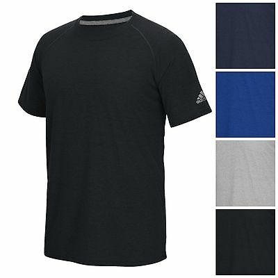 adidas Men's Climalite Ultimate Short Sleeve Tee Athletic Slim Fit Crew T-Shirt