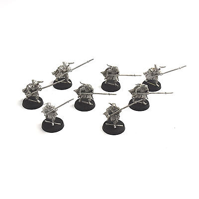 LOTR 8 Grey Company Warriors #1 METAL OOP Cleaned RARE
