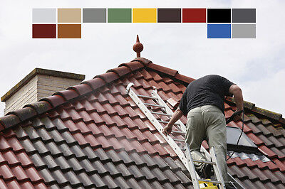 4,37 Roof Coating dachfarbe Roof Paint Roof Renovation Bricks Roof Colours