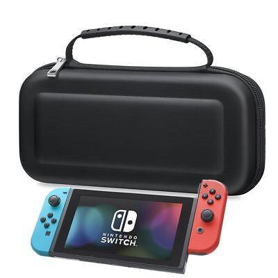 BLACK-Hard Protective Carry Case Cover For Nintendo SWITCH Console Game