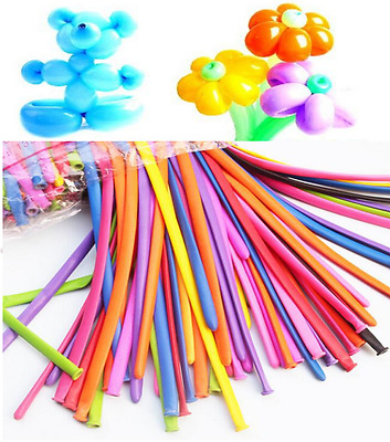 Latex Traditional Multi Colour Modelling Balloon Party Wedding Decoration