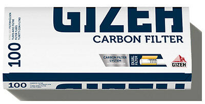 500 (5x100) GIZA Carbon Filter (Sleeves, Filter sleeves, Cigarette tubes)