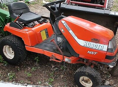 Kubota Lawn Tractor Model T1400 Parts Tractor Hst Parts Only 313 00 Picclick