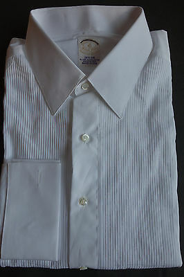 NWOT Brooks Brothers Golden Fleece Sea Island Cotton White Formal Shirt 16.5-34