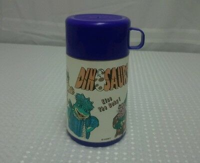 Vintage 90s DINOSAURS TV Show Thermos Kiss the Baby by Aladdin