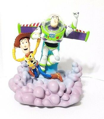 Disney Parks Toy Story Figurine Buzz Light year & Woody Large Figurine Statue
