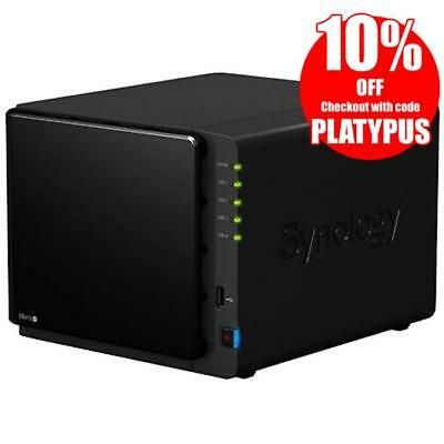 Synology DiskStation DS412+ 4-Bay Diskless NAS, Dual Core 2.13GHz, 1GB RAM