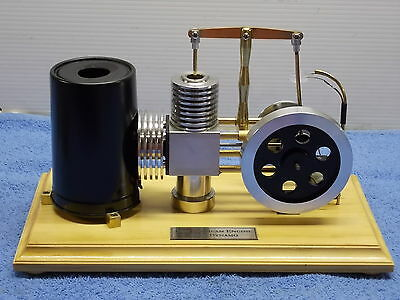 Working  Model Hot Air BEAM Engine with 3volt Dynamo.FREE POST WITHIN AUSTRALIA