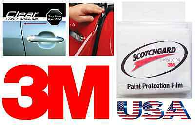 """3M 240"""" Roll Car Door Edge Anti Scratch Guard Paint Chip CLEAR Strip Protector $"""