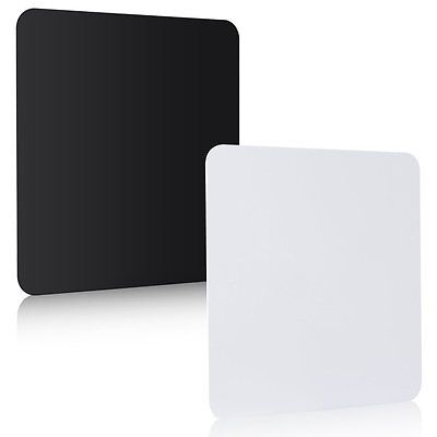 White + Black Acrylic Photo Photography Studio Reflection Display Boards (2 Pcs)