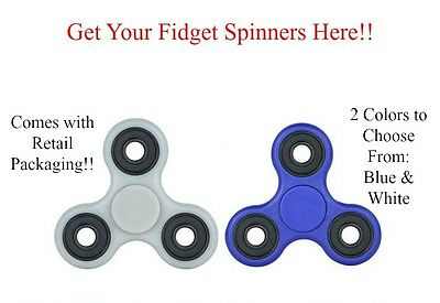 Fidget Finger Toy Tri- Spinner For Kids/Adults EDC Hand Stress Relief Focus