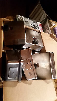 Bobrick Model B-4112 Stainless Steel Soap Dispensers Industrial Mounted