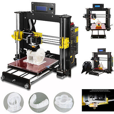 2017 Upgraded Full Quality High Precision Reprap Prusa i3 DIY 3d Printer LCD