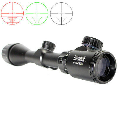 Bushnell Banner 4-16x 40mm Rifle Reticle Scope Illuminated Hunting Matte Black