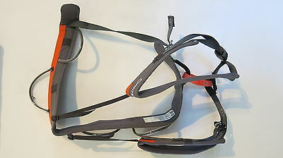 Wild Country Blaze Men's Climbing Harness size Large + Wild Country Chalk Bag