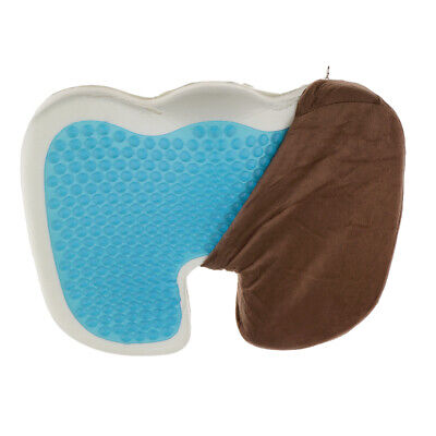 Gel Coccyx Office Seat Cushion Tailbone Pillow Hip Sciatica Back Pain Relief