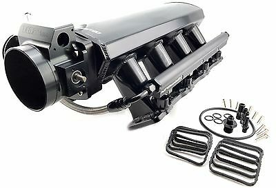 GM LS3 L92 LY6 Custom Aluminum INTAKE MANIFOLD 102MM Throttle Body w/ FUEL RAILS