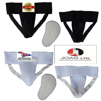Groin Guard With Gel Cup Boxing MMA Protector Box Martial Arts Removable Cup