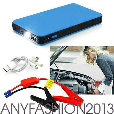 20000mAh Portable Car Jump Starter Power Bank Vehicle Battery Charger 12V Hot!