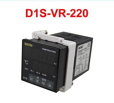 Sestos Dual Digital Pid D1S-VR-220 Temperature Controller 2 Omron Relay Output