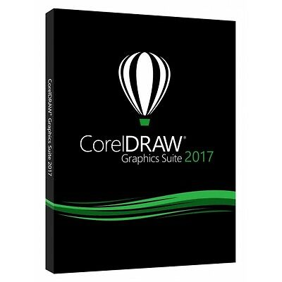 Corel DRAW Graphics Suite 2017 DVD Box IT UPG (CDGS2017ITDPUG)