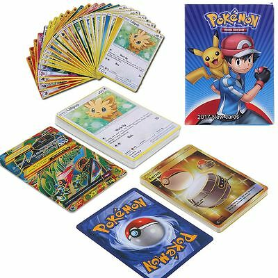 Kids Child Pokemon TCG 25 Or 17 Pcs Cards Lot Uncommon Guaranteed Rares & Holos