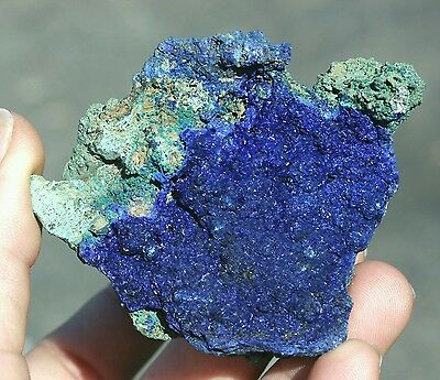 100g Beautiful Natural Bright Azurite with Malachite Crystal Healing specimen