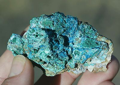 58g Natural beautiful Chrysocolla with Malachite Crystal Healing specimen