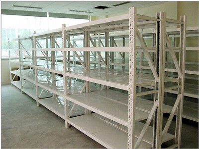 7 Bay Longspan Storage Shelves Shelving Rack Racking Shelve For Shop Warehouse