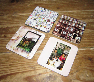 Led Zeppelin Album Cover COASTER Set # 2