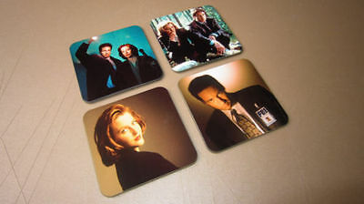 The X Files Scully Mulder Drinks COASTER