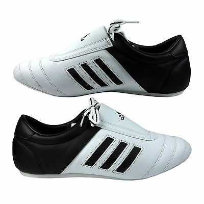 Adidas Martial Arts Trainers 'Adi Kick I' Karate Taekwondo Shoes White Training