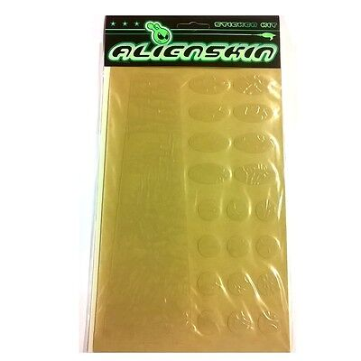 Alien Skin Bicycle Frame Protector Sticker Kit - Clear