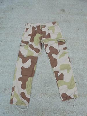 NEW Norwegian Army M98 RIPSTOP Desert Camouflage Combat Trousers British Made