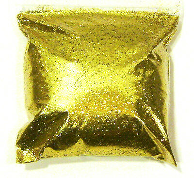 "9oz / 266ml Rich Gold Metal Flake .015"" Custome Auto Paint Additive Flakes LF059"